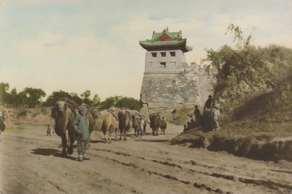 торговые караваны из Китая